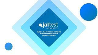 JALTEST UNIVERSITY | Euro 6. Diagnosis de sistemas de postratamiento