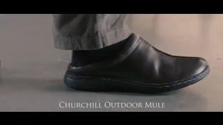 Outdoor Mule in Brown from Samuel Windsor