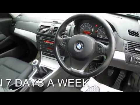 BMW X3 2.0D SE DIESEL 6 SPEED MANUAL 5 DOOR 4X4 - YouTube