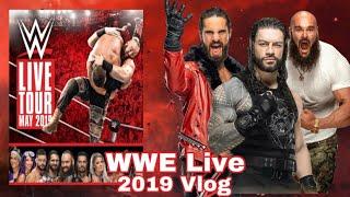 Not The Best Show-Ryanjob62 Trips WWE Live Belfast 2019