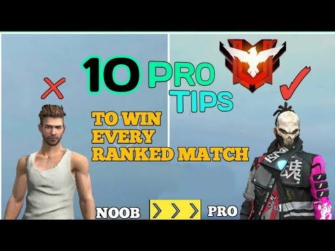 10 PRO TIPS TO WIN EVERY RANKED GAME | FREE FIRE / Fully explained / bin zaid