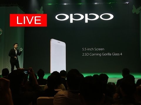 OPPO F1s Live Facebook by Siamphone