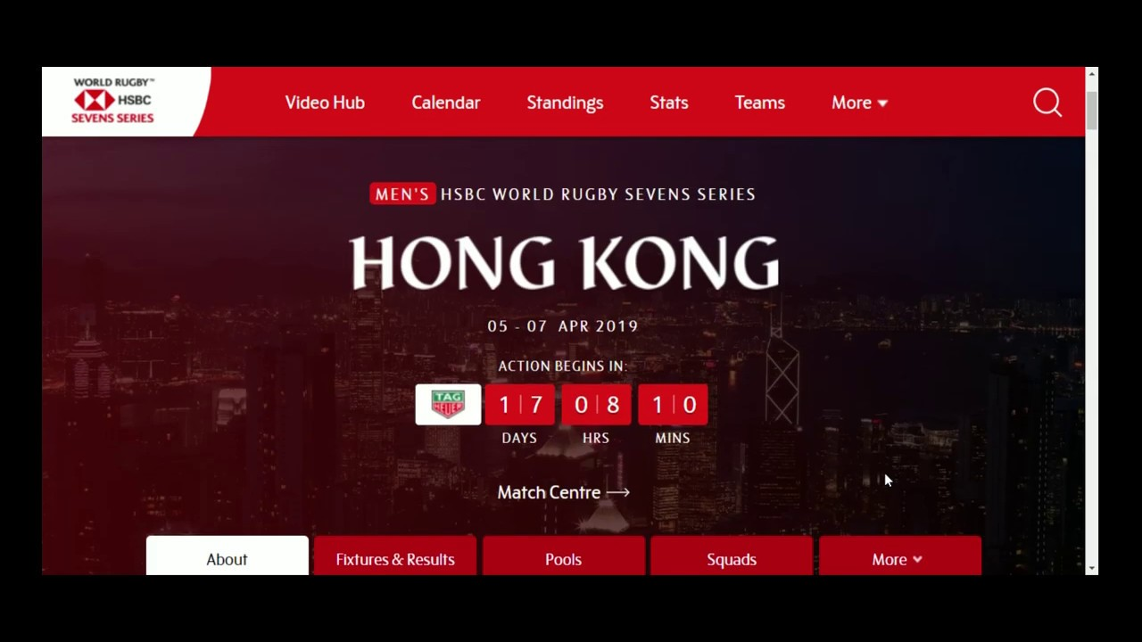 watch hong kong rugby sevens online free
