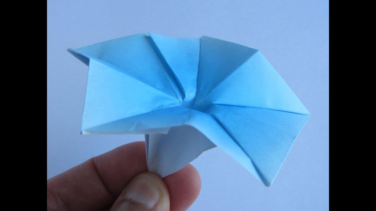 あさがお 簡単 折り紙