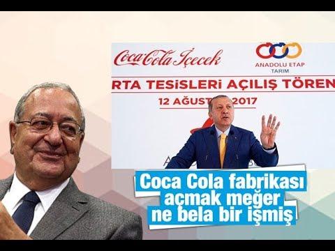 Mehmet Barlas    Coca Cola fabrikası açmak meğer ne bela bir işmiş