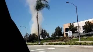 Tornado en Santa fe Springs, California 9-3-2016