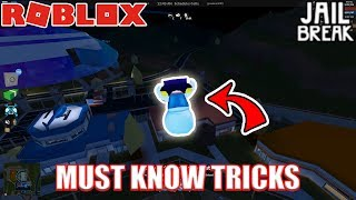 MUST KNOW Jailbreak TRICKS and SECRETS with DigDugPlays | Roblox Jailbreak