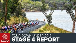 Tour Down Under Stage 4 Race Report