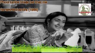 PHOOL TUMHE BEJAHAI hindi karaoke for Male singers with lyrics