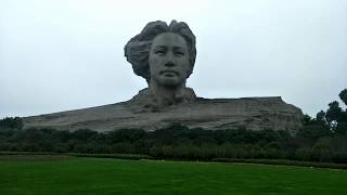 Молодой и красивый Мао Цзэдун на апельсиновом острове. Чанша Китай 27.12.18 step 198