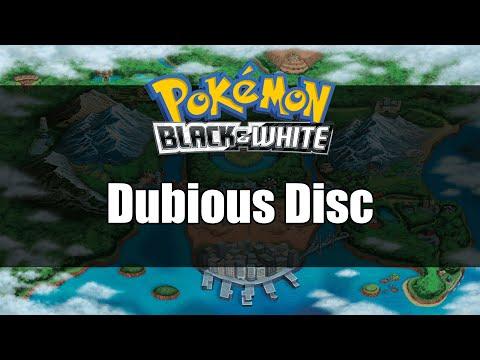 Pokemon Black And White | Where To Get Dubious Disc