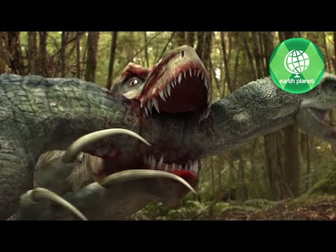 DINO FIGHT | TARBOSAURUS VS THERIZINOSAURUS | THE BEST OF DINOSAURS | DINOSAUR BATTLE | DINO ARENA