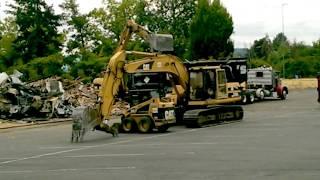 TGI Fridays Demolition ~ Tigard, OR  August 2018