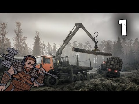 Spintires: MudRunner with Peachy & Bentham