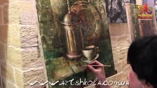 Мастер Класс живописи Елены Ильичевой 21-22.04.2012