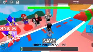 Roblox Obby (ft. Tesha740 & Jordanbuchanan6)