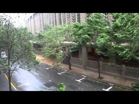 Typhoon Glenda / Rammasun in Makati, Manila, Philippines