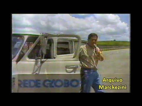 Jornal da Globo: GP Brasil de F1: Rio ou São Paulo? (1989)