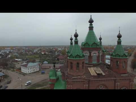 Кострома, Макарьев - коптер (4к видео)