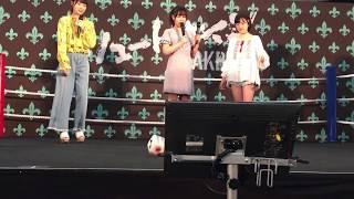 2017/06/11 パシフィコ横浜 手ブレ多め サイコロトーク 気まぐれオンス...