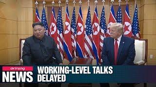 N. Korea-U.S. working-level talks being delayed amid warnings on Seoul-Washington...