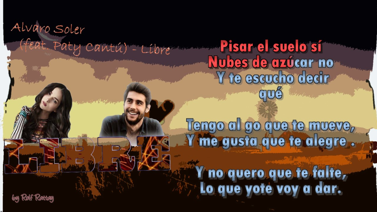 Alvaro Soler Feat Paty Cantu Libre Instrumental With Choir Youtube