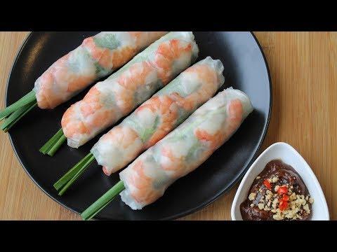 越南春卷 - 越南春卷食谱的秘密 - 正宗的 - Morganes