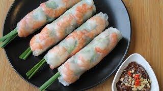 越南春卷 - 越南春卷食谱的秘密 - 正宗的 - Morgane's