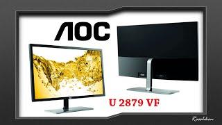 aoc u2879vf monitor z 4k i freesync za 1500 złotych test i recenzja