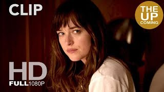 fifty shades of grey new clip ana wakes up in christian grey s hotel room