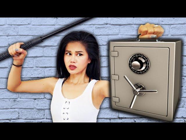 PROJECT ZORGO ABANDONED SAFE vs NINJA & SPY GADGETS (Doomsday Date Mystery Box Unboxing Haul)