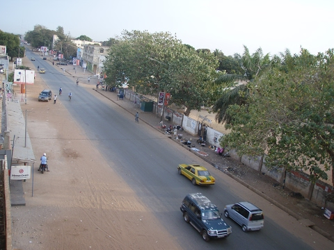 Gambia Kairaba Avenue to Westfield Re-visited 17 th February 2017 in HD Latest