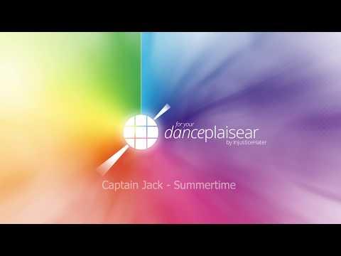 Captain Jack - Summertime (short mix)   eurodance HD
