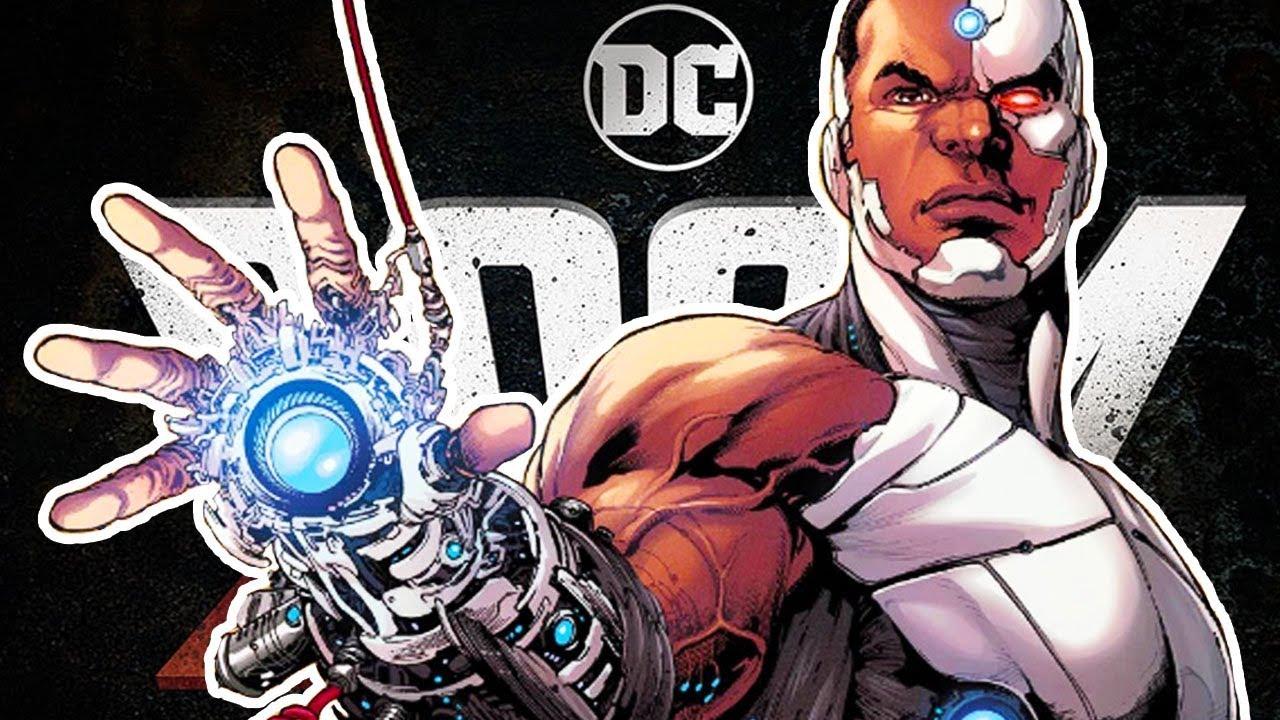 Doom Patrol Reduex Serious Swearing Cyborg Youtube