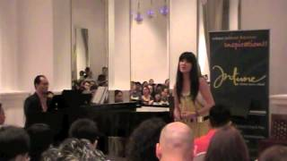 Somewhere from al West Side Story sung by Evelyn Kauw from Intune Music School