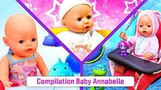 Poupon baby born Annabelle. La vie quotidienne. Les histoires pour enfants
