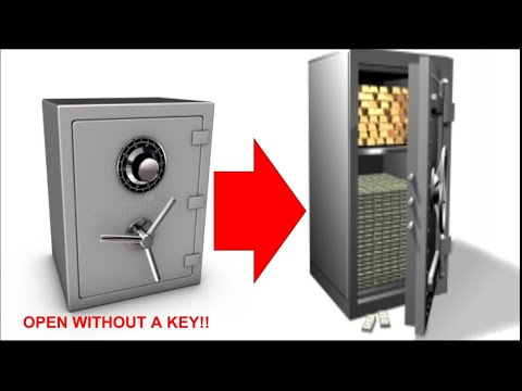 How to open a safe without a key (no hacks)