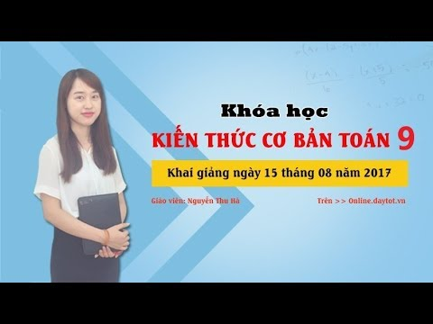 Một số chú ý khi giải hệ phương trình ( Toán lớp 9 )   -   Cô Nguyễn Thu Hà