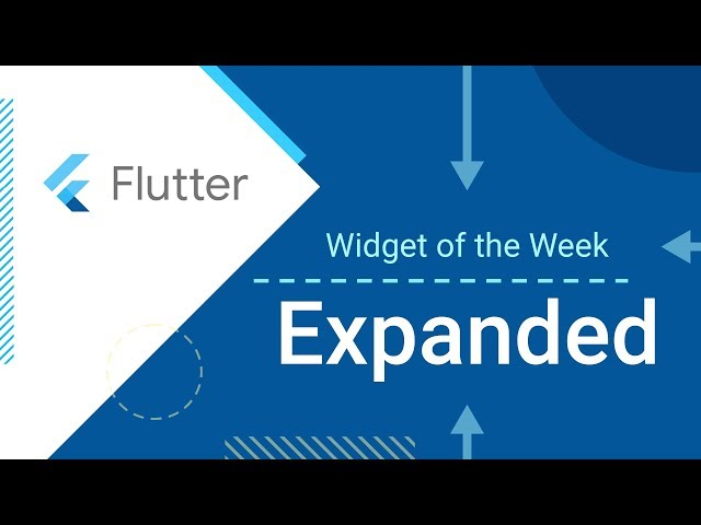 Expanded (Flutter Widget of the Week)