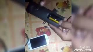 How to charge phone with remote battery