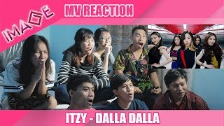 "KNOCK OUT & AUTO LOOT !! [IMAGE™] MV REACTION ""ITZY - DALLA DALLA"""