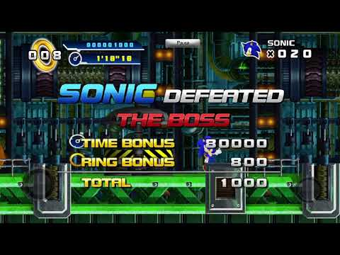 Sonic The Hedgehog 4 Episode 1: All Boss Fights |