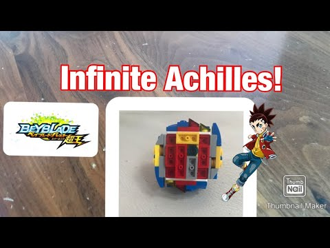 NEW INFINITE ACHILLES REVIEW!!! | LEGO beyblade reviews