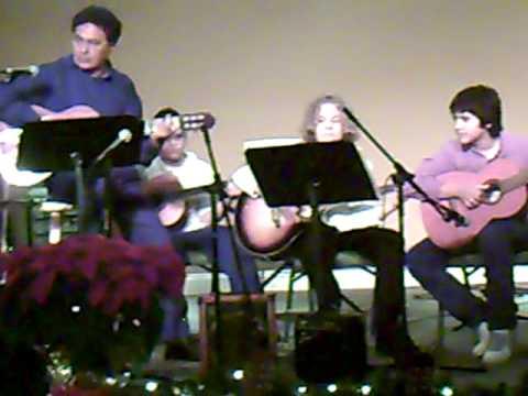 Lorenzo Play Guitar in Granada Church Coral Gables Miami