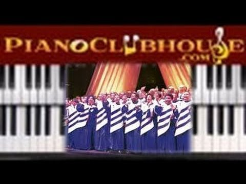 "♫ How to play ""NEAR THE CROSS"" (Mississippi Mass Choir) gospel piano tutorial ♫"