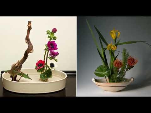 ИКЕБАНА   цветы которые живут
