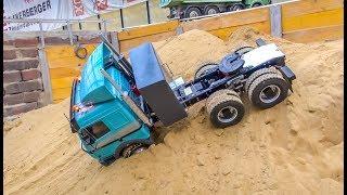 RC trucks, tractors and heavy machines  WORK HARD!