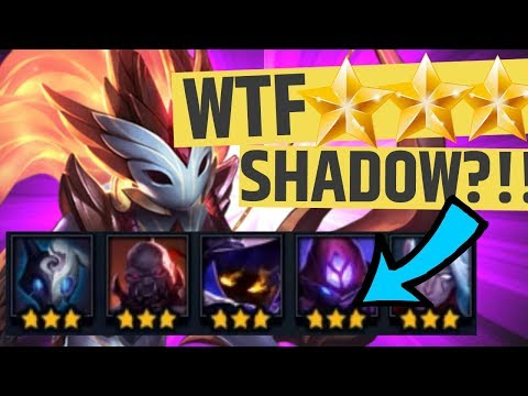 HE ROLLED ⭐⭐⭐ BEST SHADOW COMP - TFT Teamfight Tactics HOW DO YOU BEAT THIS? Set 2 Strategy Guide