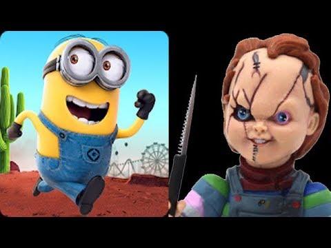 Despicable Me Minion Rush Vs Chucky Slash & Dash