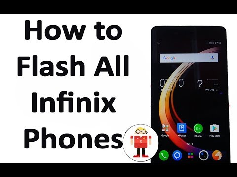 How to Flash All Infinix Phones With SP Flash Tool.